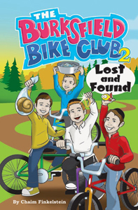 The Burksfield Bike Club, Book 2: Lost and Found (PB)