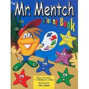 Mr Mentch Coloring Book PB