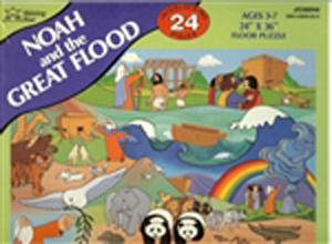 Noah and the Great Flood Floor Puzzle - 24 piece