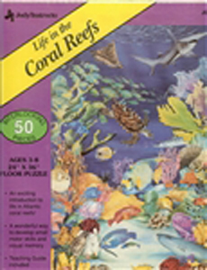 Life in the Coral Reefs Floor Puzzle - 50 piece