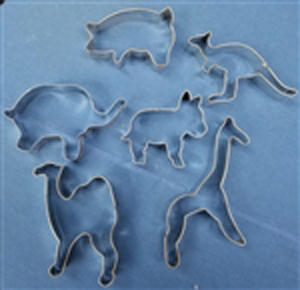 Noah's Ark Cookie Cutters