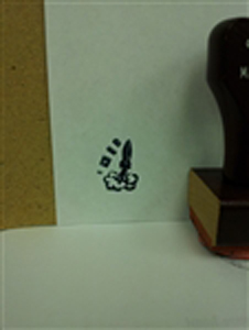 Yofi (Nice) Rubber Stamp