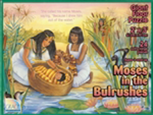 Moses in the Bulrushes Floor Puzzle