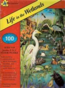 Life in the Wetlands Floor Puzzle - 100 piece