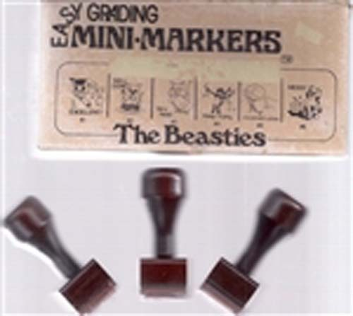 Easy Grading Beasties Mini Stamps