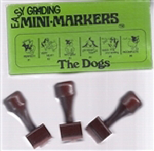 Easy Grading Dogs Mini Stamps