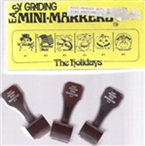 Easy Grading Holidays Mini Stamps