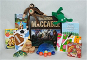 Cool Camp Care Package toy and book assortment for camp or vacation