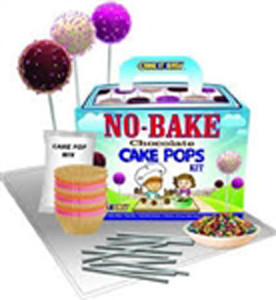 No Bake Cake Pop Chocolate