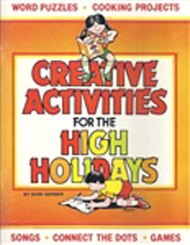 Creative Activities for the High Holidays  PB