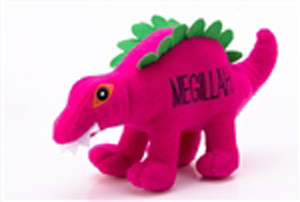 Dog Toy - Megillah  Dinosaur