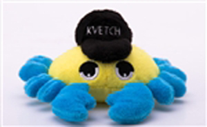 Dog Toy - Kvetch Crab
