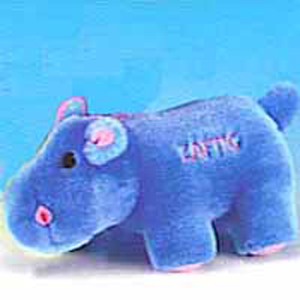 Zaftig Hippo Dog Toy
