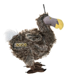 Schmuck the Dodo Bird Dog Toy