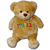 Hebrew Personalized Brown Bear
