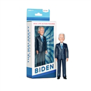 Joe Biden Action Figure, a man of action