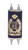 "7.5"" Hebrew Mini-Torah with Velveteen Cover"