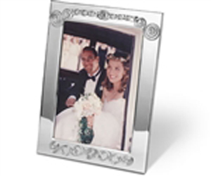 Personalized Beaded Picture Frame by Jillery