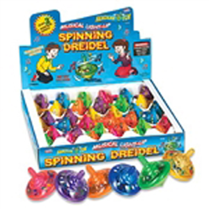Light Up & Sing Dreidel with 2 songs!