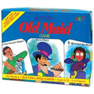 Jewish Holiday Old Maid Card Game