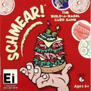 Schmear Build-A-Bagel Card Game