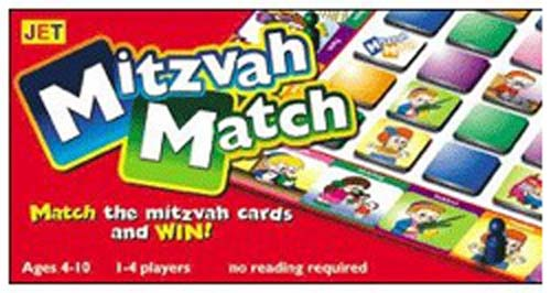 Mitzvah Match Board Game