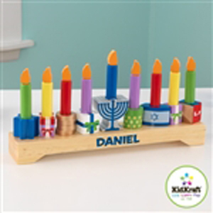 Personalized Children's Menorah