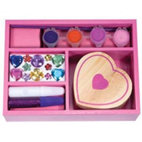 Melissa and Doug - Decorate Your Own Heart Box