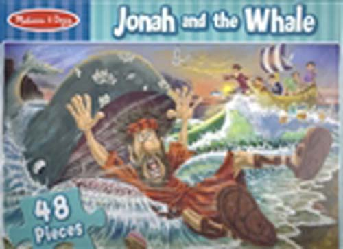 Jonah and the Whale  48 piece Floor Puzzle