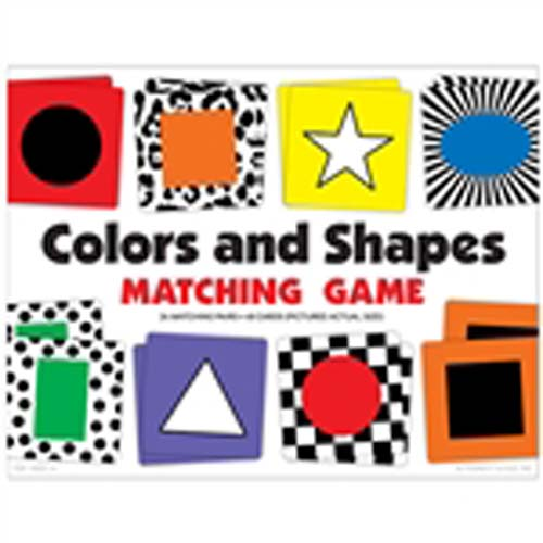 Colors & Shapes Matching Game