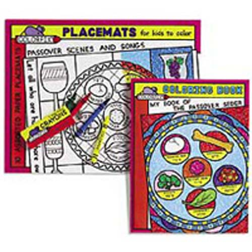 Passover Placemats and Coloring Book