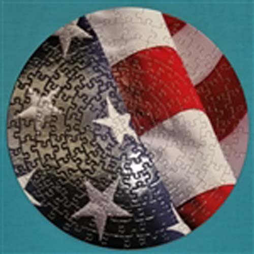Stars and Stripes Puzzle in the Round