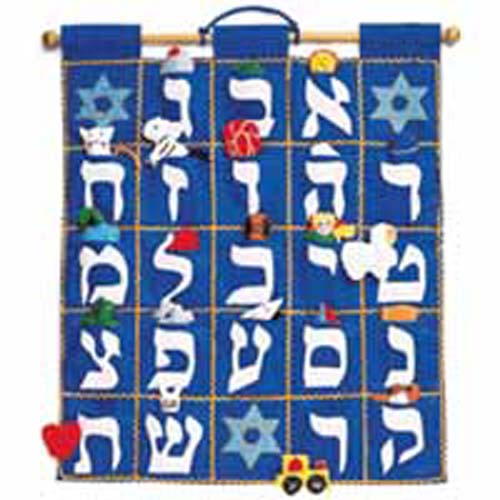 Aleph Bet Wallhanging