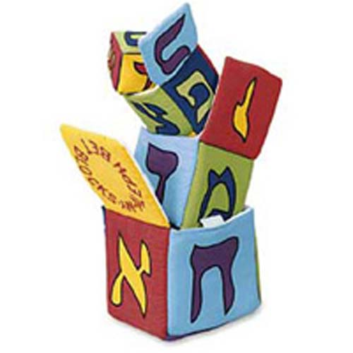 Aleph Bet Nesting Blocks