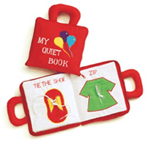 Pockets of Learning Quiet Book