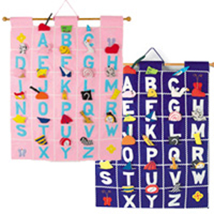 Pockets of Learning ABC Wallhanging