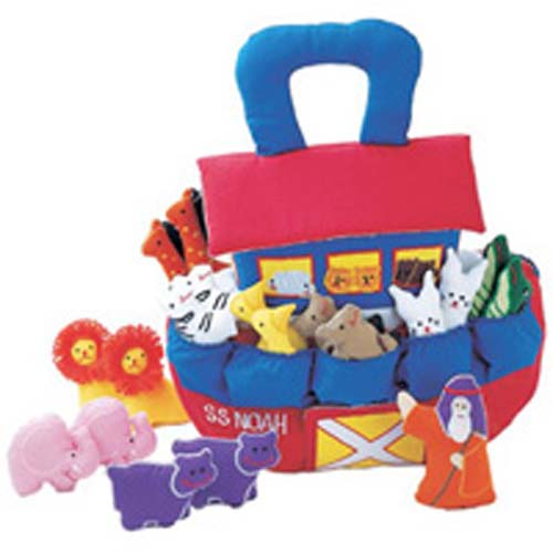 Pockets of Learning Noah Soft Playset