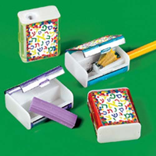 Aleph Bet Pencil Sharpener