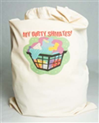 My Dirty Schmattes Laundry Bag 1 Sided - English