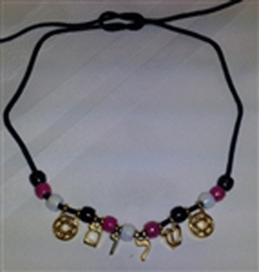Shalom (Peace) Bead Necklace