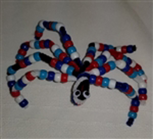 Colorful Spider Craft
