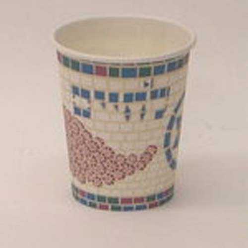 """Mosaic"" 9 oz Hot/Cold Cups - 8/pk"
