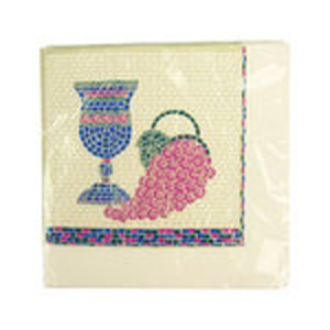 """Mosaic"" Beverage Napkins - 16/Package"