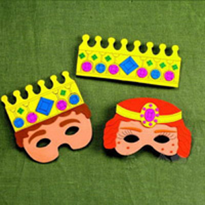 Royal Purim Masks