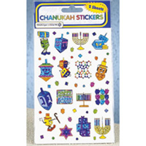 Hanukah Sticker Sheets