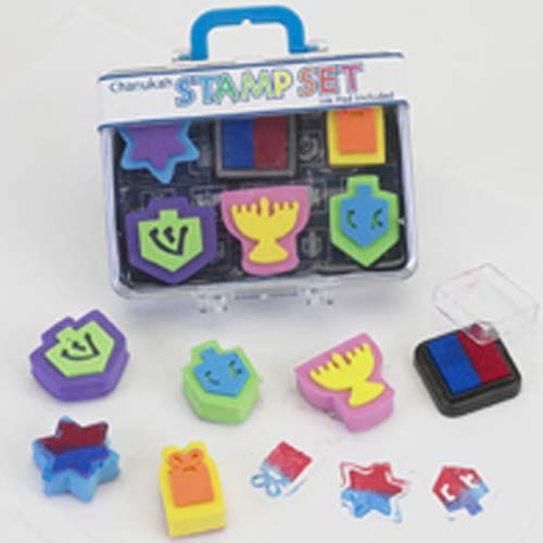 Hanukah Rubber Stamp Kit