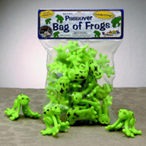 Bag of Passover Frogs