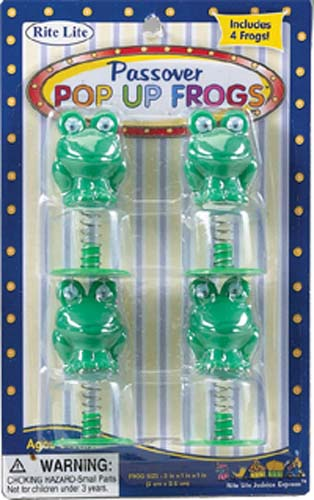 Passover Pop-Up Frogs