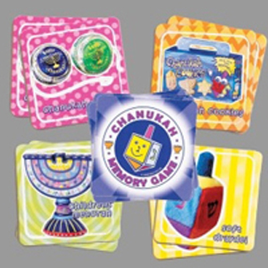 Chanukah Memory Card Game