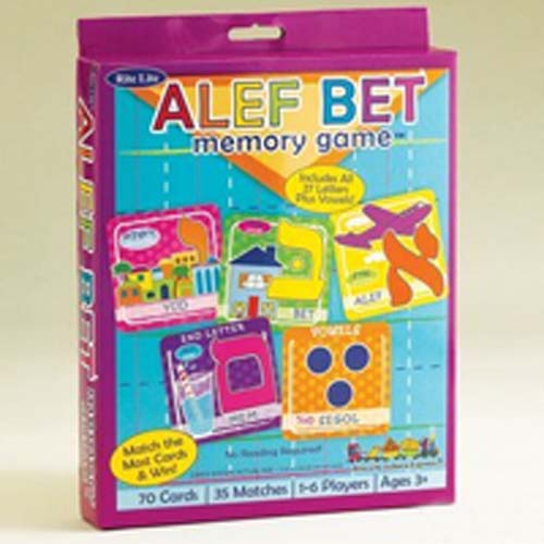 Aleph Bet Memory Game
